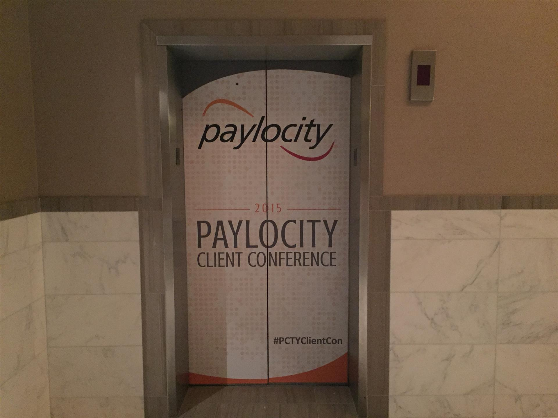 Paylocity Elevator Signs