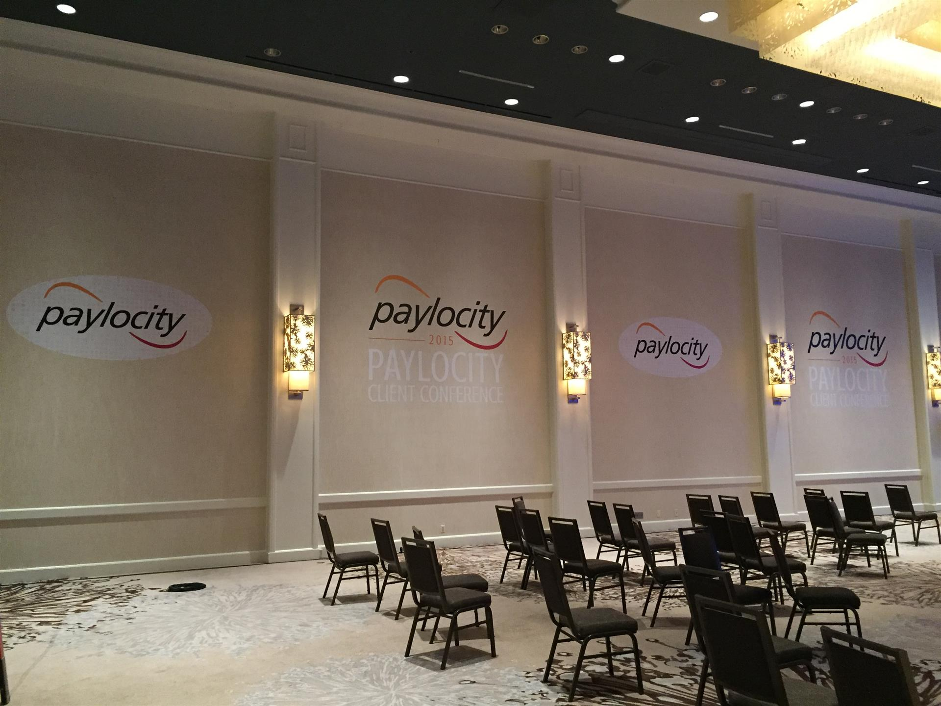 Paylocity Conference Room Wall Signs