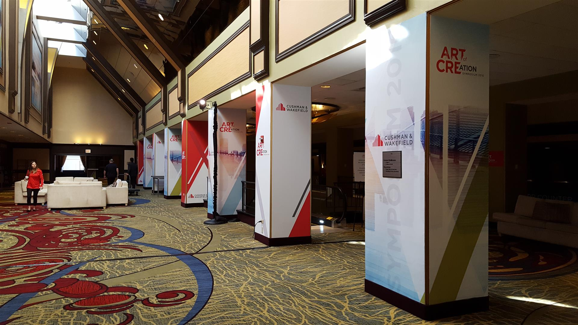 Cushman & Wakefield Convention Signs