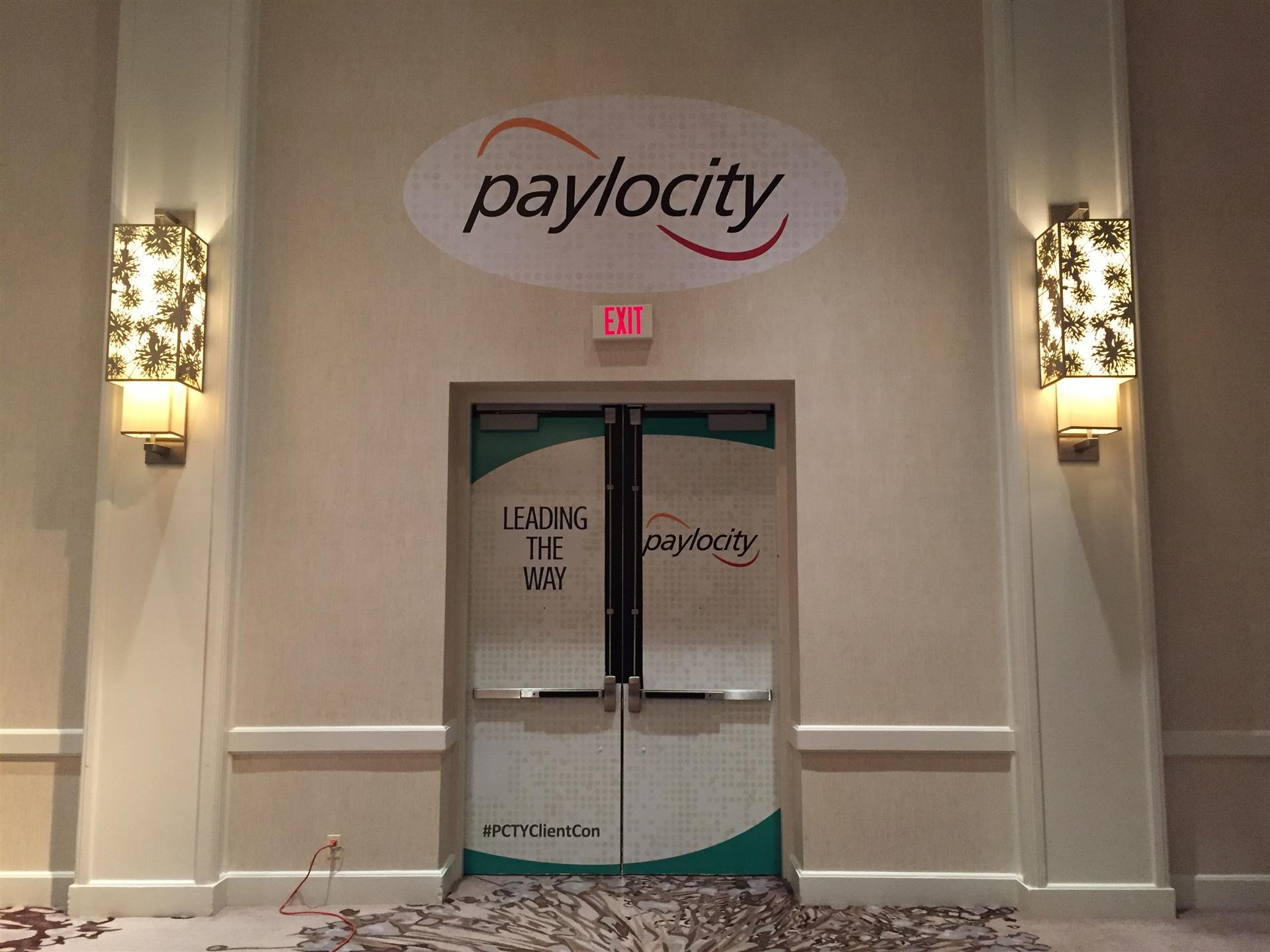 Paylocity Door Signs