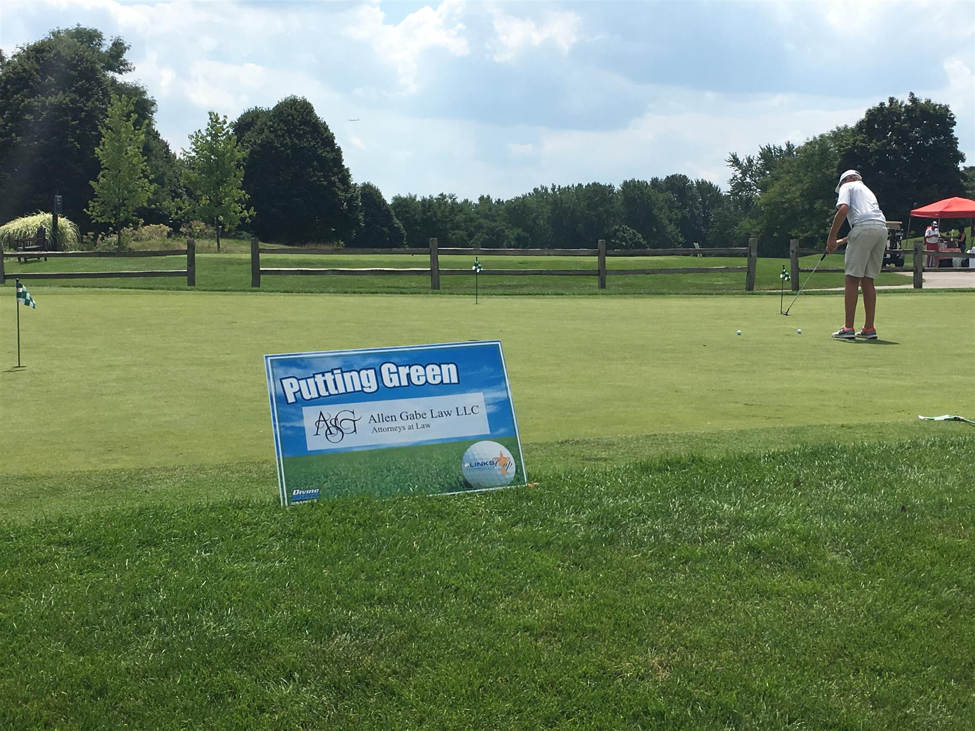 Golf Outing Special Event Sign
