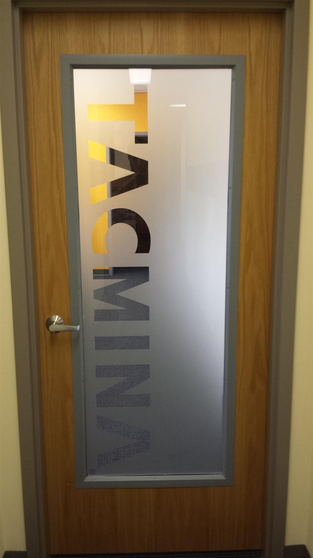 Conference Room Door Sign