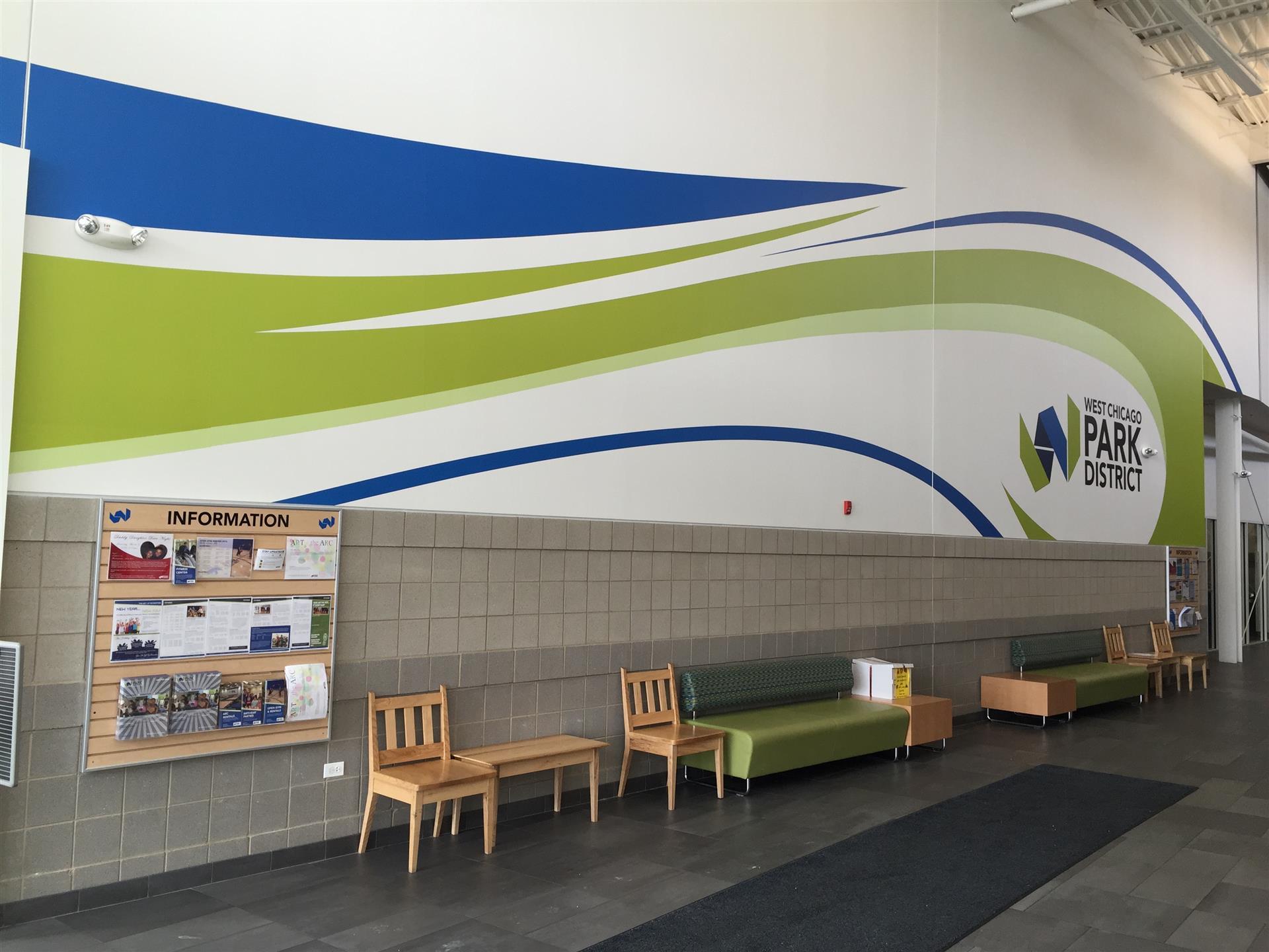 Lobby Wall Wrap