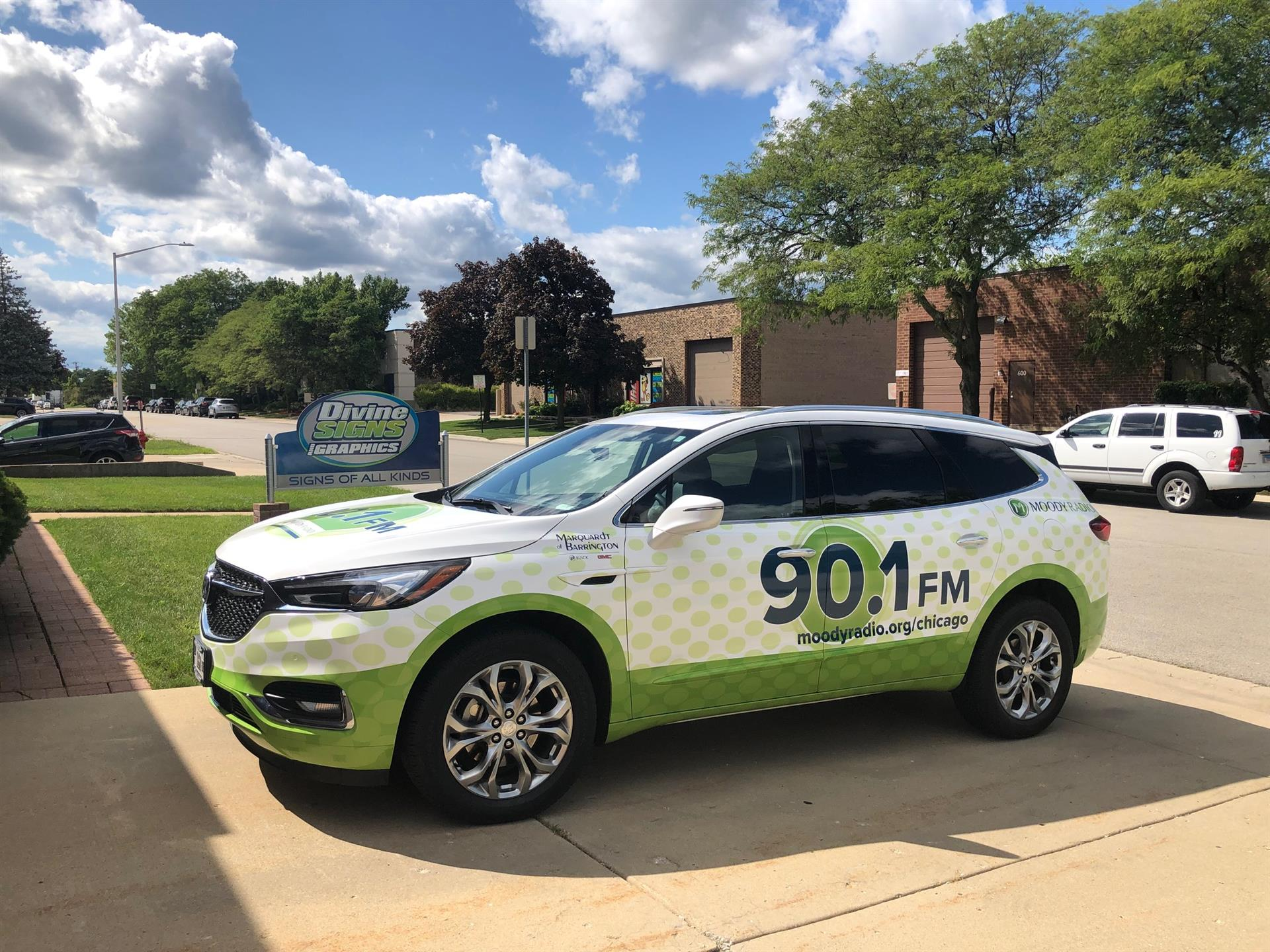 Build Brand Awareness with Vehicle Wraps