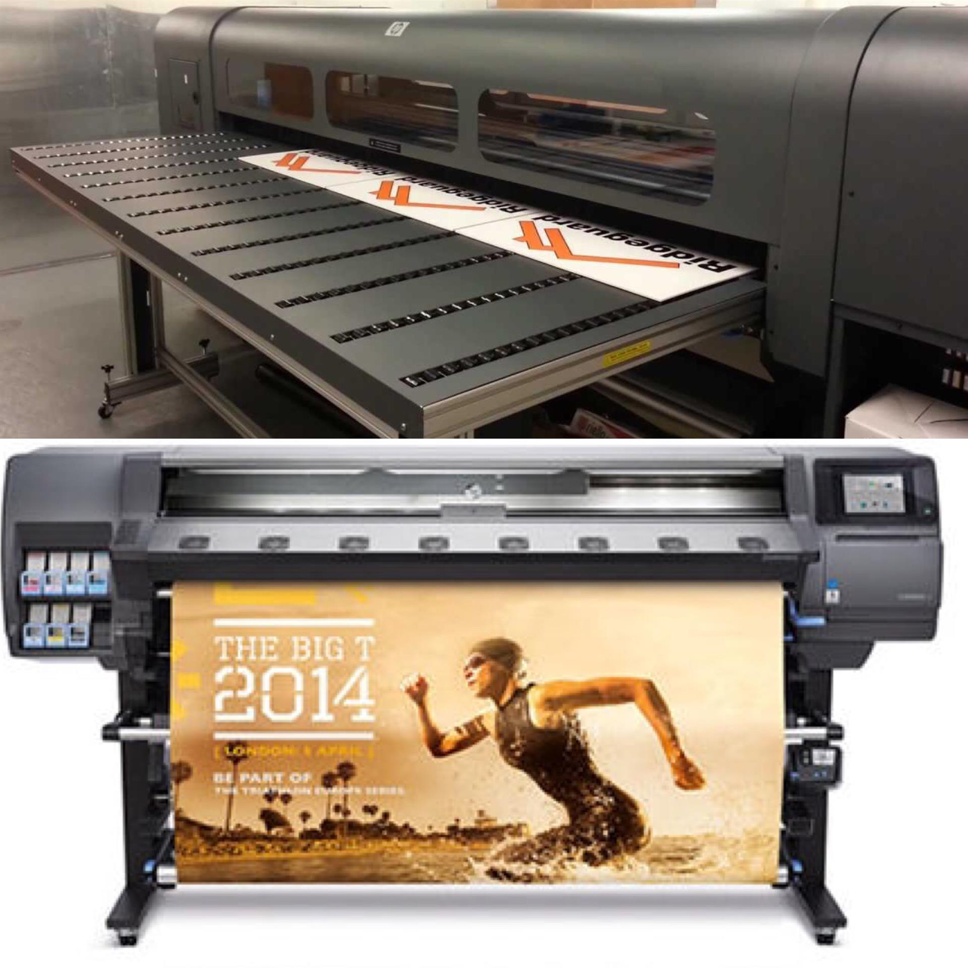 Printing 101: Flat Bed Printing vs. Wide Format Roll Printers