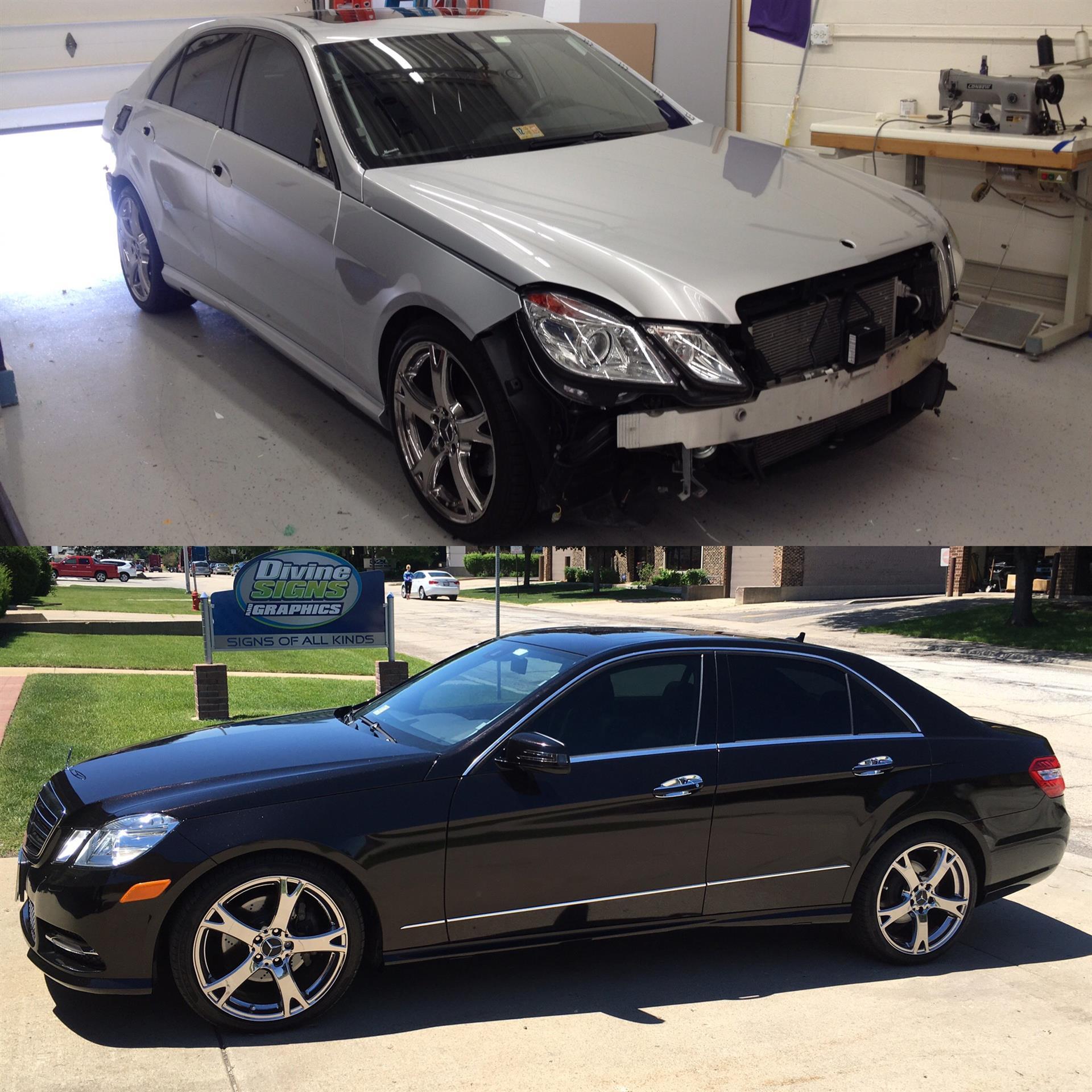 Mercedes-Benz Car Wrap!