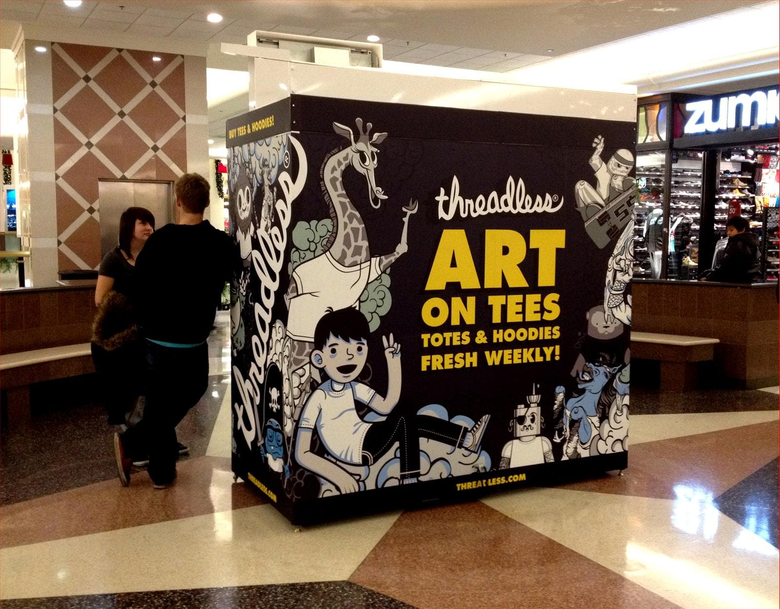 Art on Tees Wall Wrap