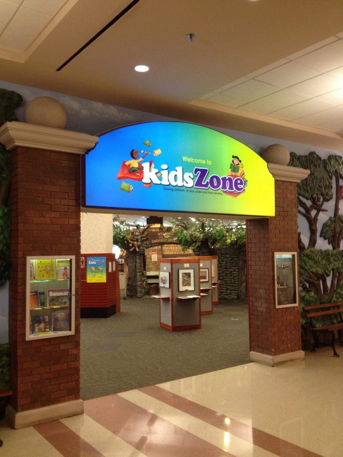 Kids Zone Wall Wrap