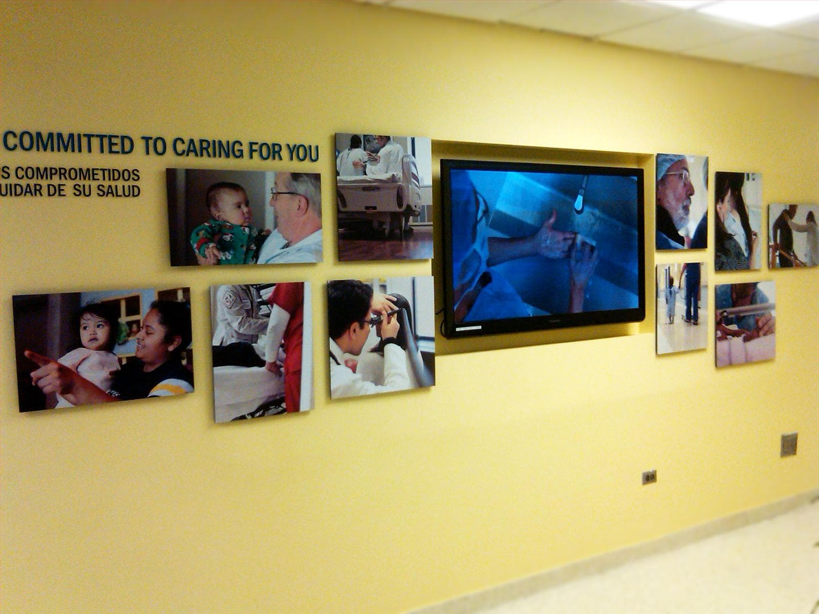 Committed to Caring for You Wall Graphics