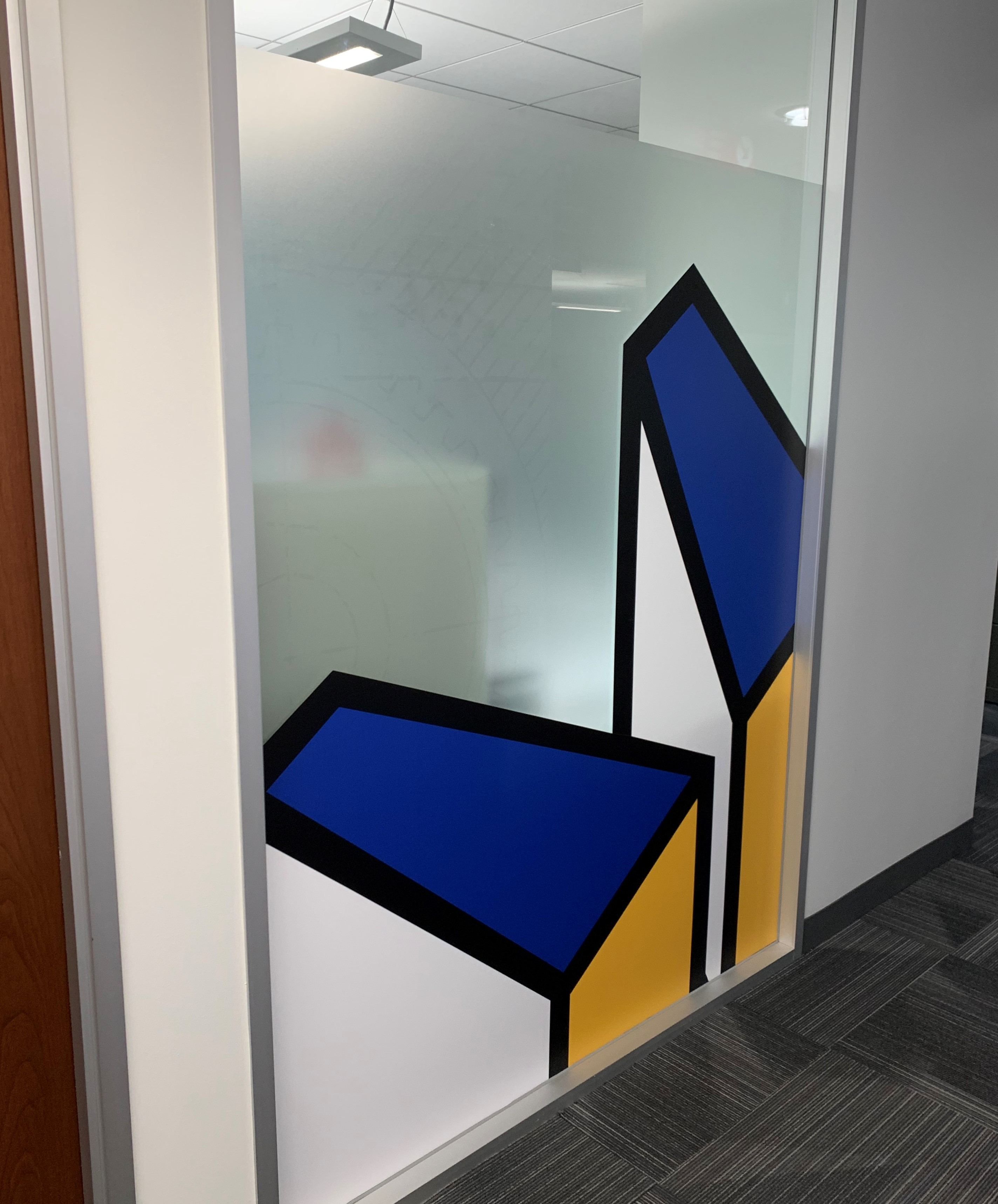 Conference Room Wall Graphic