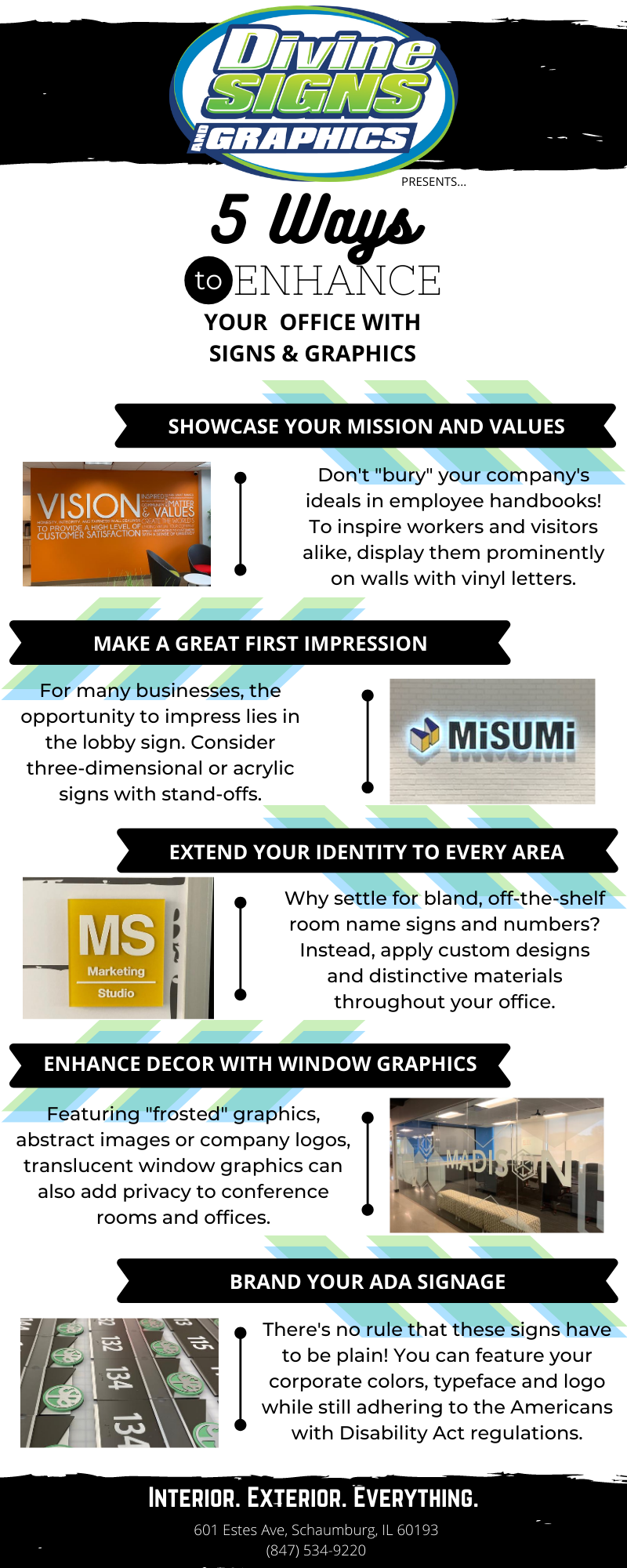 5 Ways to Enhance Your Office With Signs and Graphics
