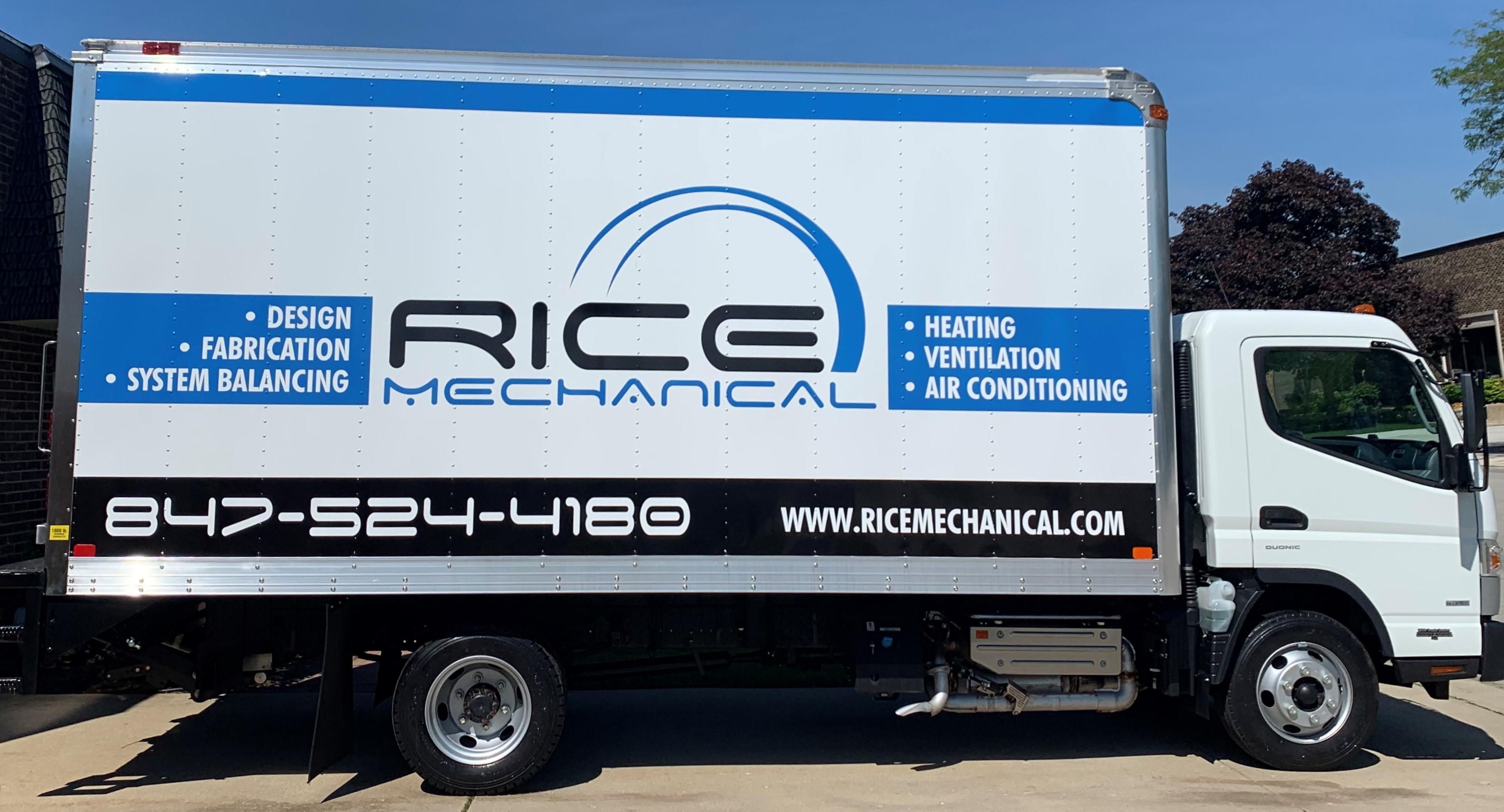Rice Mechanical Fleet Wrap