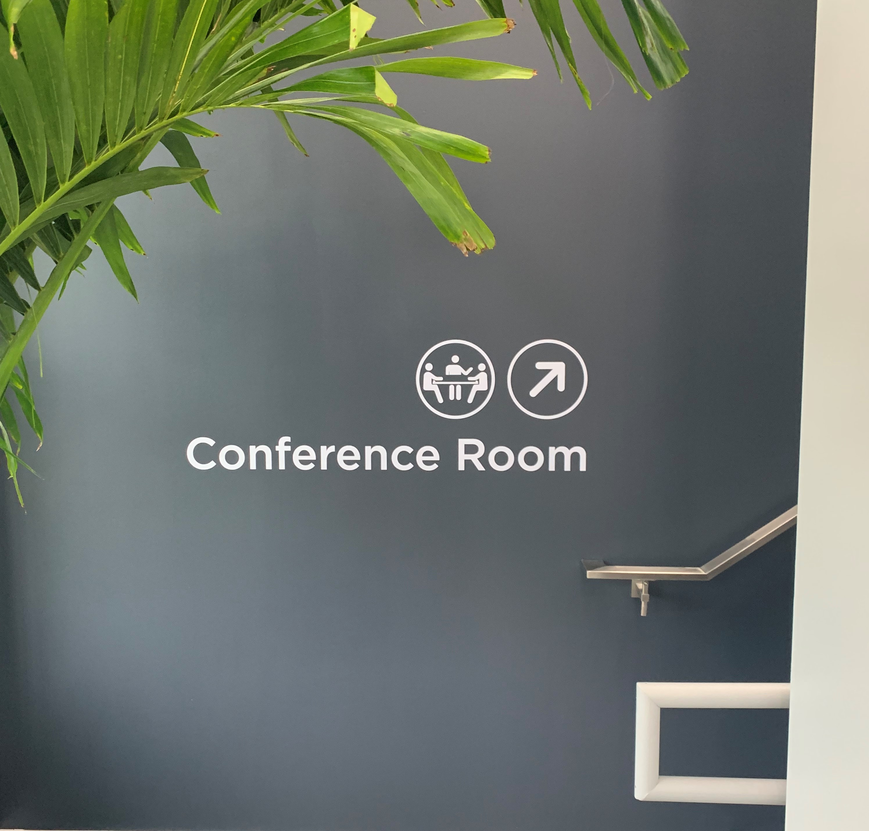 Conference Room Wayfinding Sign