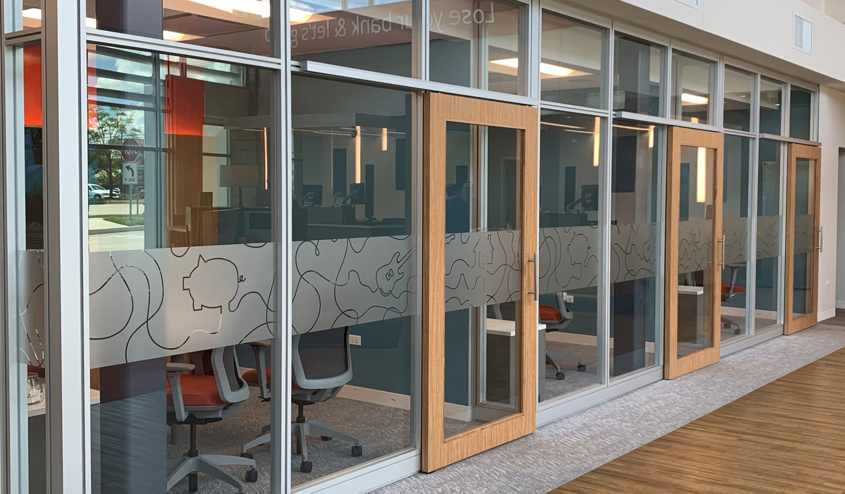 The Benefits of Custom Frosted and Etched Window Graphics