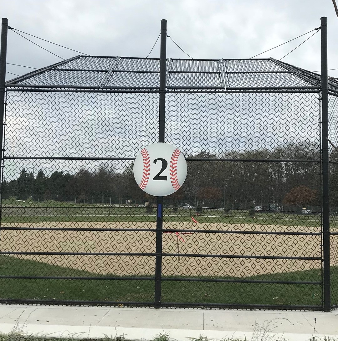 Baseball Exterior Sign