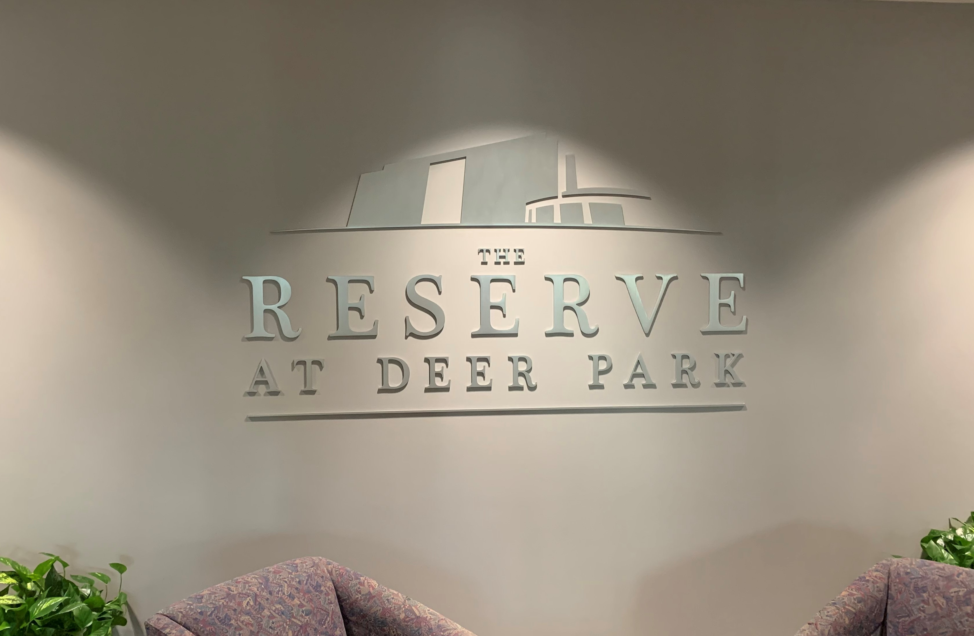 The Reserve at Deer Park Sign