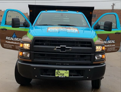Real Seal Truck Wrap