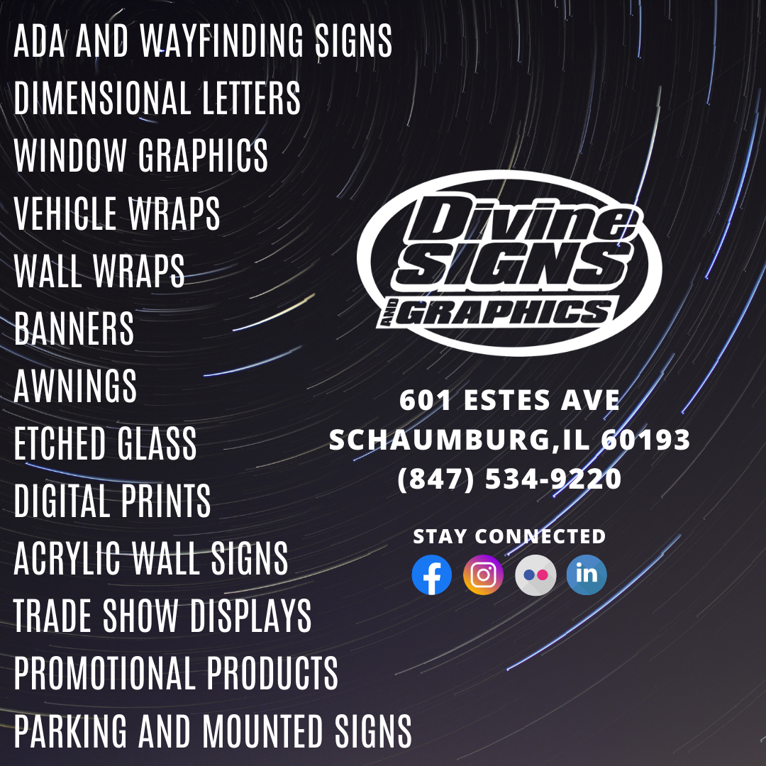 Divine Signs and Graphics Infographic - Services