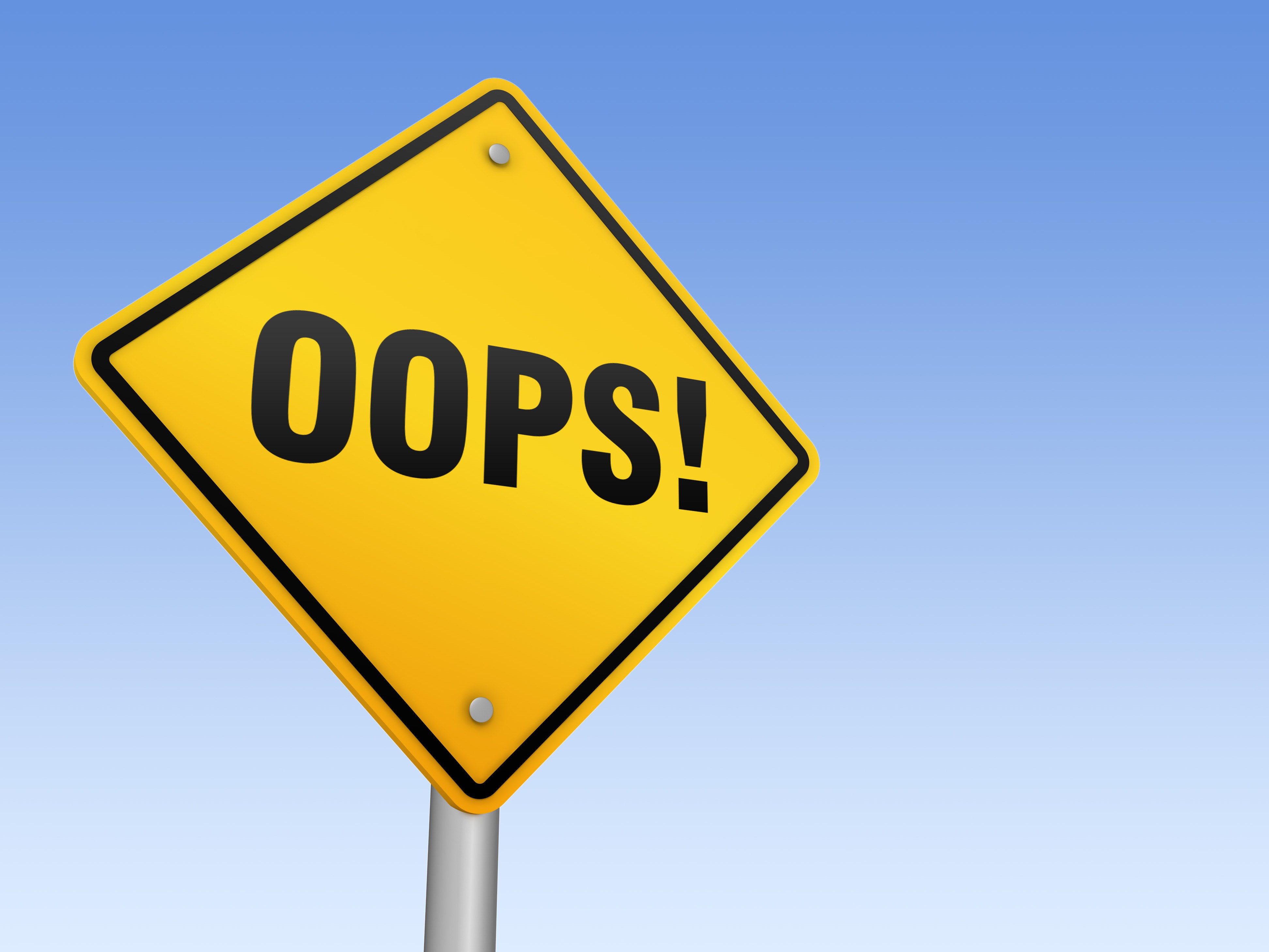 9 Common Mistakes With Signage