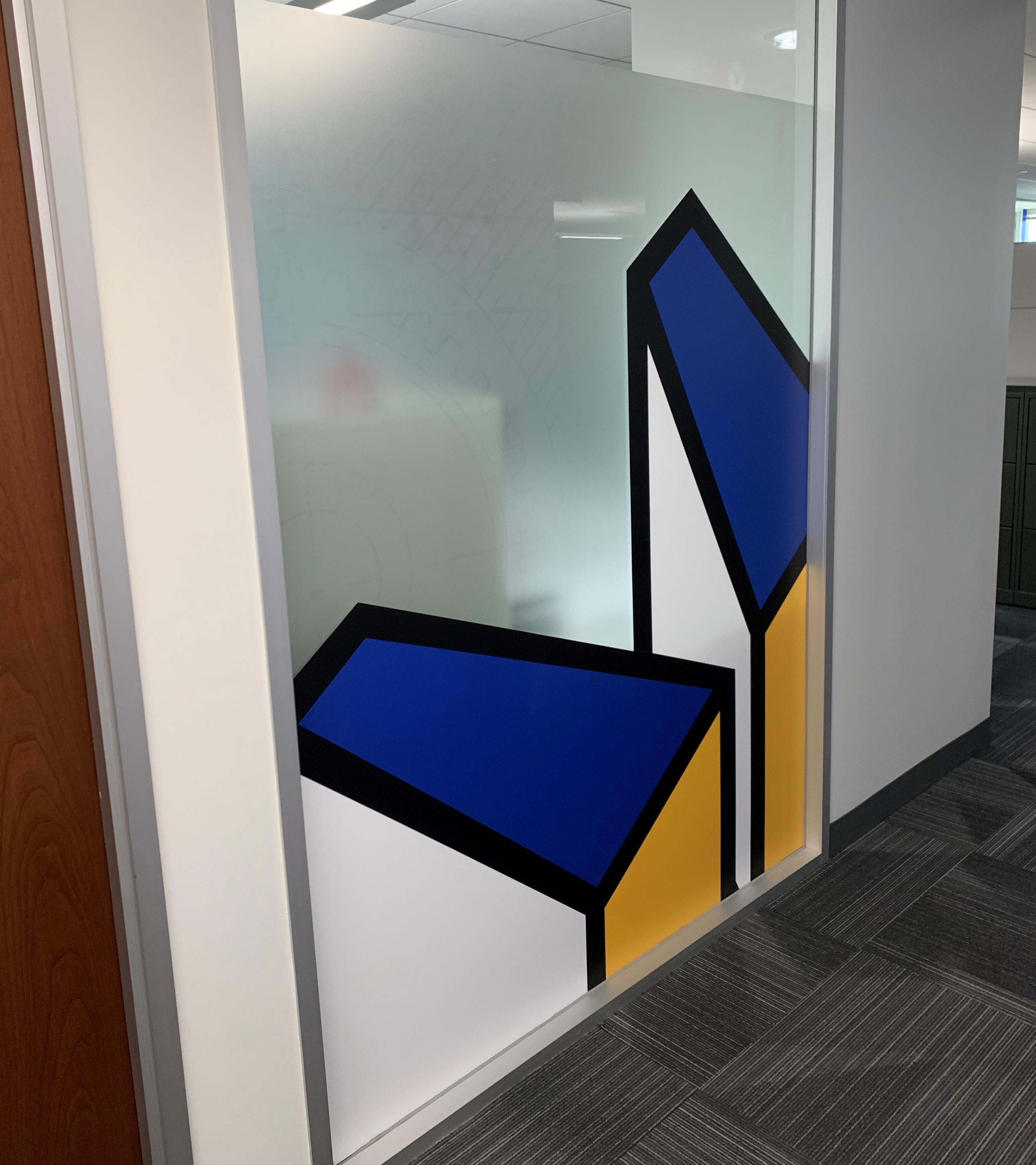 Window Graphic o Office Door