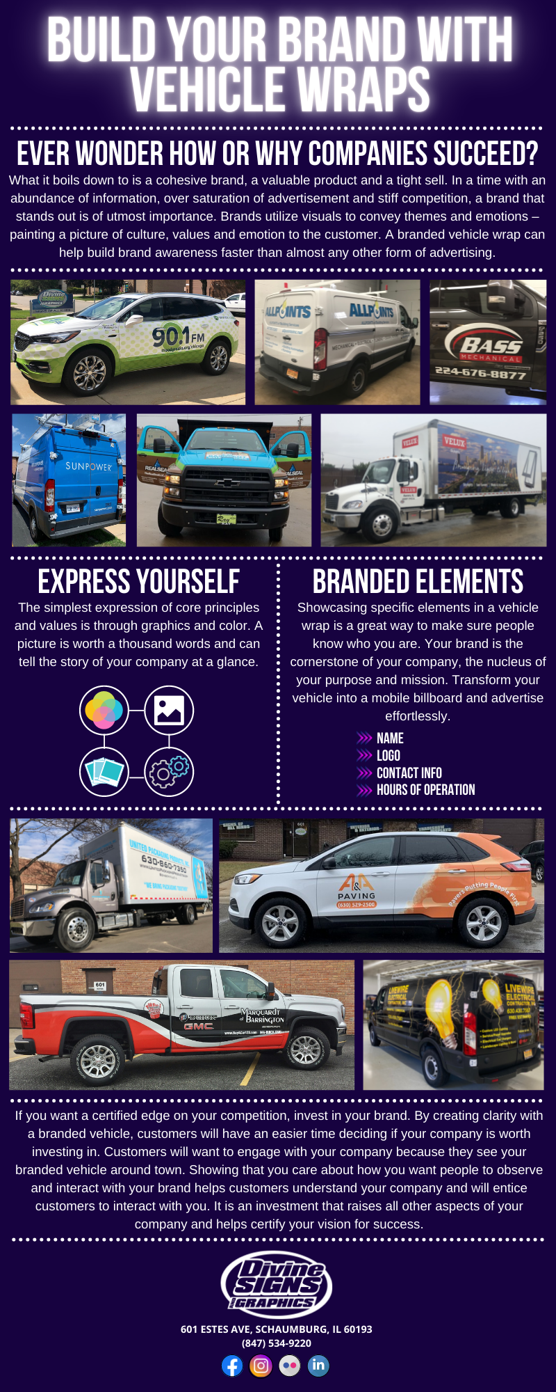 Build Your Brand With Vehicle Wraps