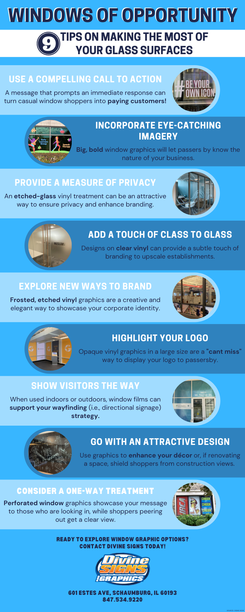 Tips for Branding Your Window Graphics