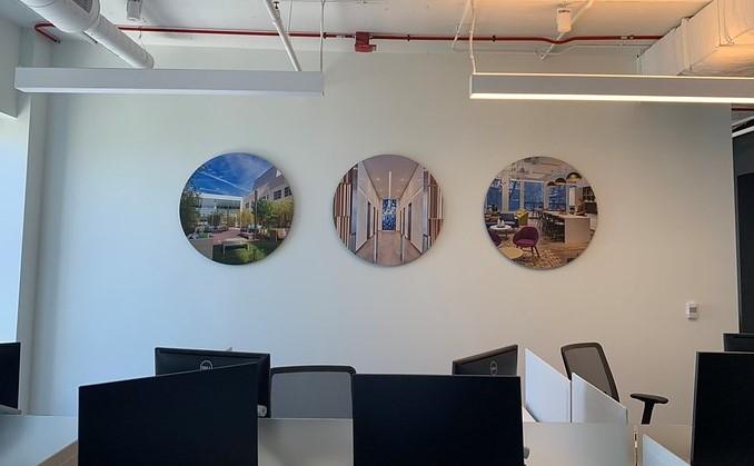Circular Office Signs