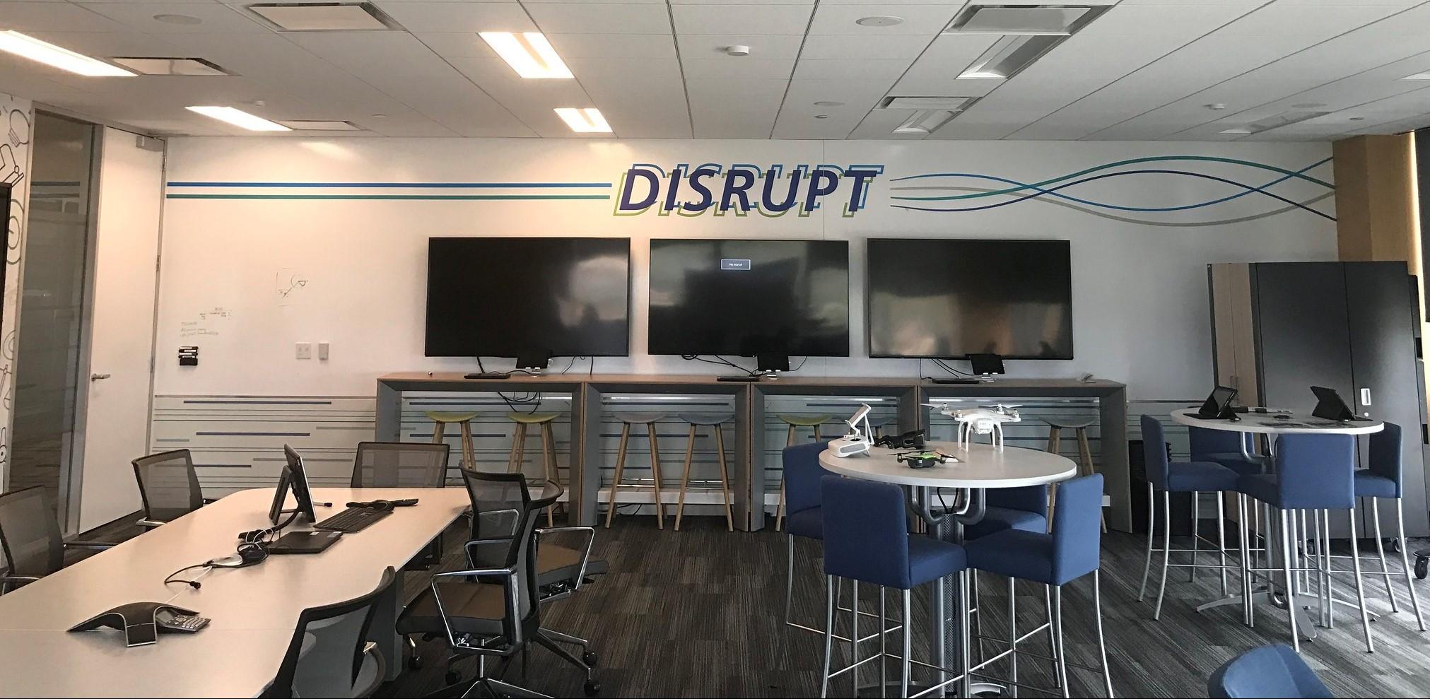 Disrupt Wall Sign