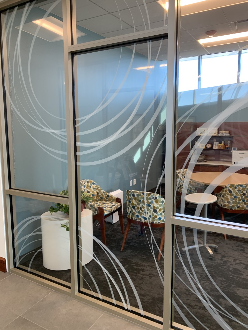 frosted glass graphics