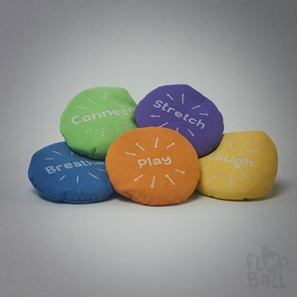 Stress Less 5-pack Flop Balls