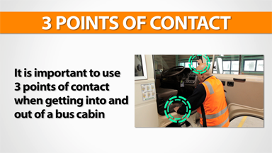 3 Points Of Contact: Bus