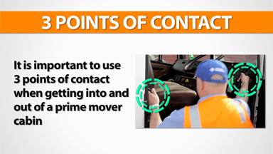 3 Points Of Contact: Prime Mover