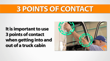 3 Points Of Contact: Truck