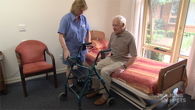Aged Care: Bed To Chair Transfer
