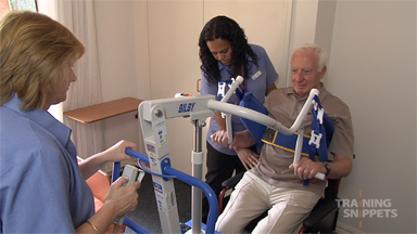 Aged Care: Bed To Wheelchair Transfer