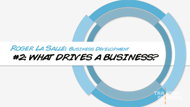 Business Development #2: What Drives A Business?