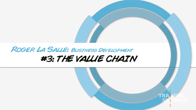 Business Development #3: The Value Chain