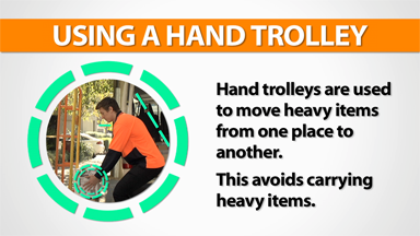 Courier Vans: Using A Hand Trolley