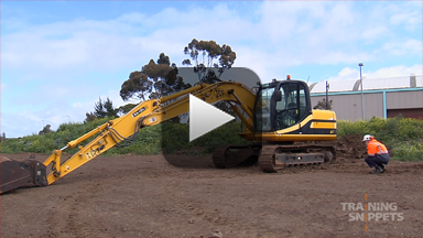 Pre-Operational Checks For Excavators