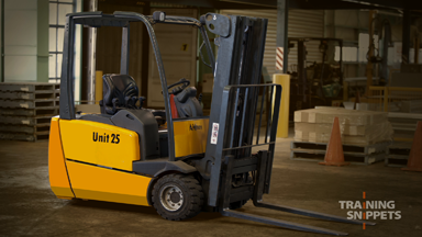 Pre-Operational Checks For Forklifts (Electric)