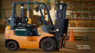 Pre-Operational Checks For Forklifts (Gas)