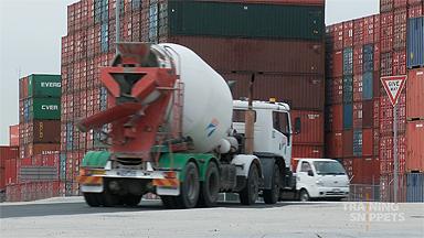 Truck Rollover #5: Dynamic Loads