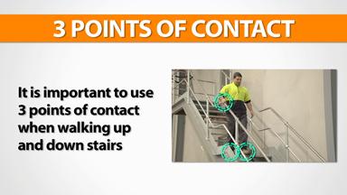 Using Stairs: Warehouse