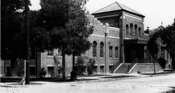 Walkers Memorial Hall Christian School in Orange, CA