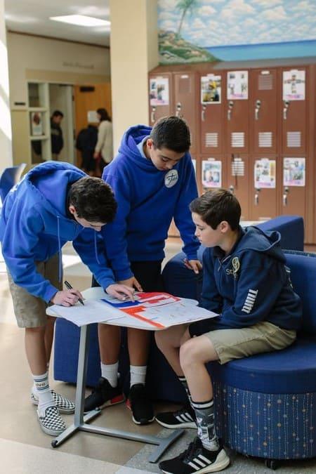 Students Attentive Christian School in Orange, CA