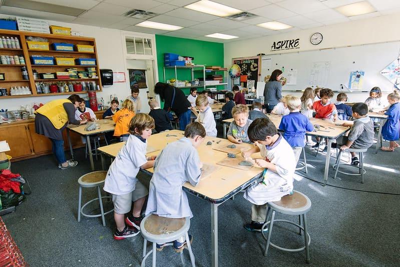 Art Classroom Private School in Orange, CA