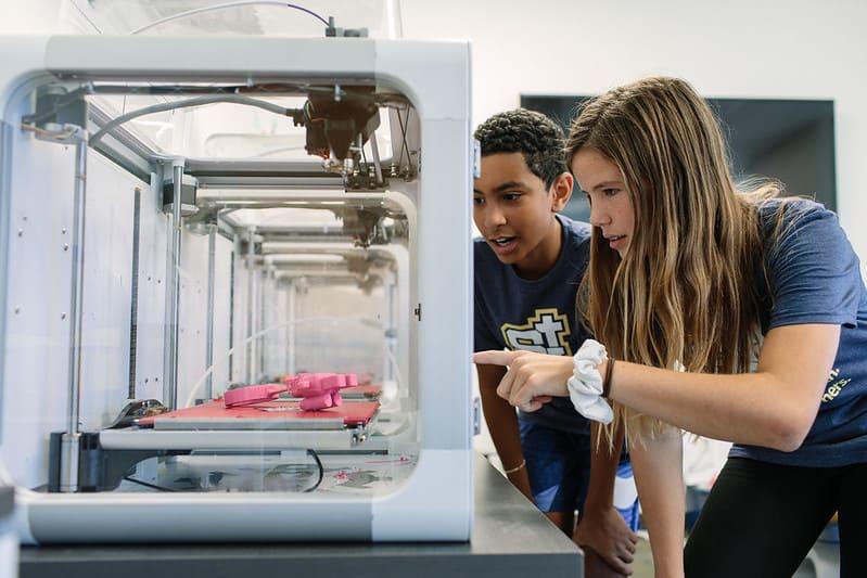 3D printer Christian School in Orange, CA
