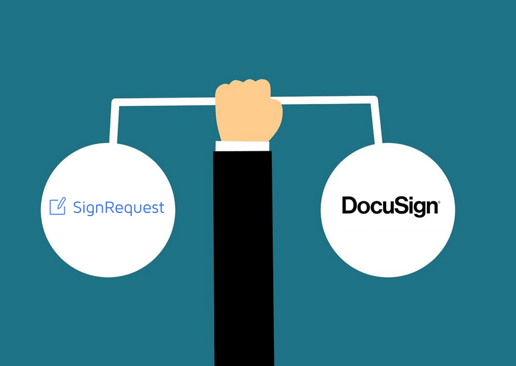SignRequest versus Docusign | Price and Product Comparison