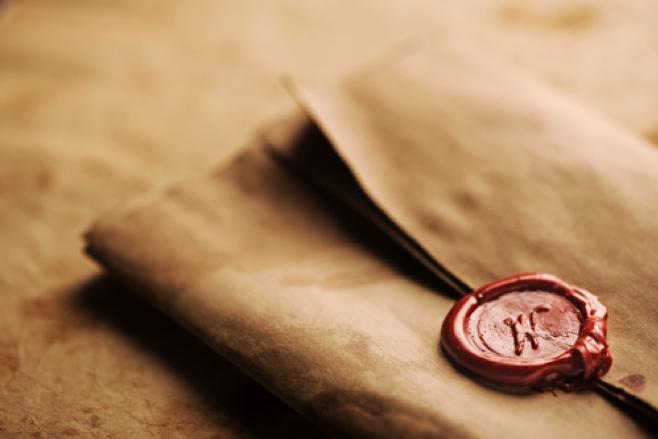 A sealed letter