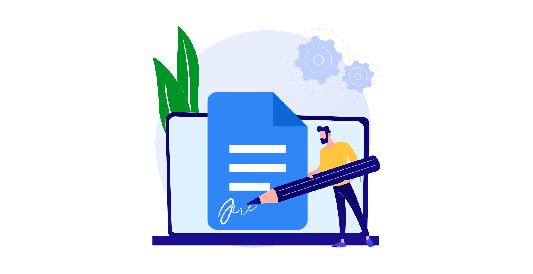 The benefits of e-signing documents with Google Docs